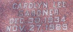 Carolyn Lee <i>Gardner</i> Bebee