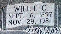 Willie G. Bolton