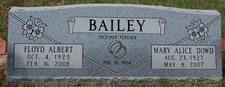 Mary Alice <i>Dowd</i> Bailey