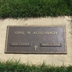 Opal M <i>Averill</i> Achenbach