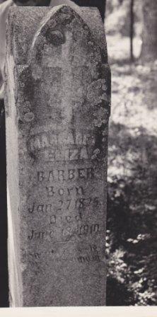 Martha Eliza <i>Jackson</i> Barber