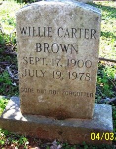 Willie Carter Brown