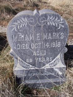 Miriam E. <i>Jones</i> Marks