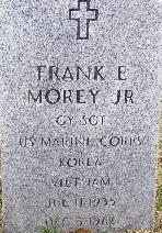 Sgt Frank Ernest Morey, Jr