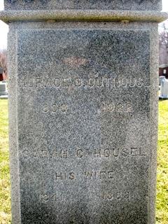 Sarah G. <i>Housel</i> Outhouse