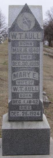 Mary E. <i>Bruner</i> Aull