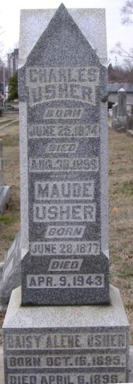 Maude <i>Aull</i> Usher