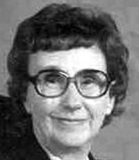 Vera May <i>Peterson</i> Boren