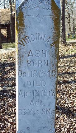 Virginia Ann <i>Oswald</i> Ash