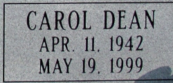 Carol Dean Gideon