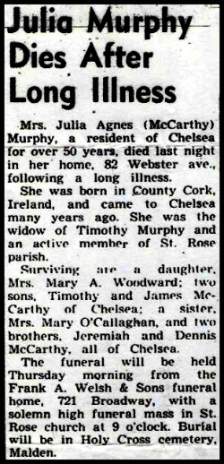 Julia Agnes <i>McCarthy</i> Murphy