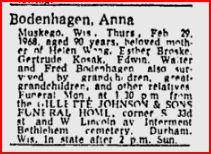 Anna <i>Schrubbe</i> Bodenhagen
