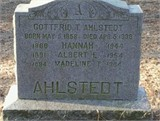 Albert Edwin tweedie Ahlstedt, Sr