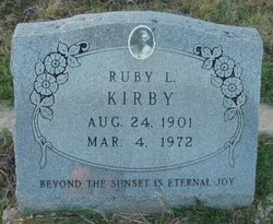 Ruby <i>Renfrow</i> Kirby