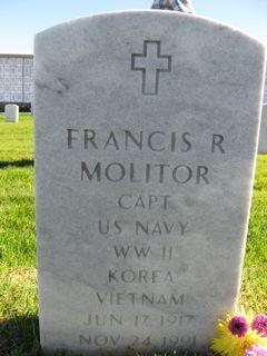 Capt Francis Raymond Fritz Molitor