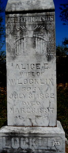 Alice E <i>Coatney</i> Locklin