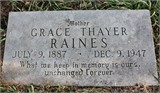 Grace <i>Thayer</i> Raines