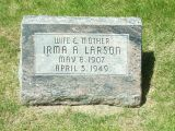 Irma Alexandria <i>DeShayes</i> Larson