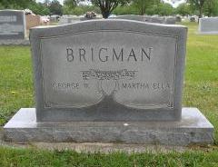 Martha Ella <i>Johnson</i> Brigman