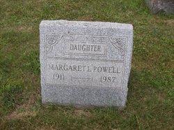Margaret L Powell