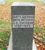 Mary <i>Smith</i> Sherman