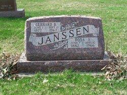 Mrs Rosa A. <i>Bohnsack</i> Janssen