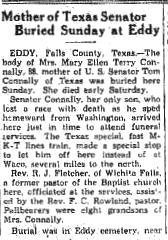 Mary Ellen <i>Terry</i> Connally