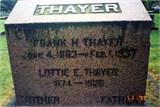 Lottie Ellen <i>Funk</i> Thayer