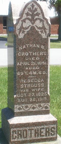 Rebecca <i>Strouss</i> Crothers