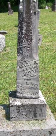 Mary A. <i>White</i> Boyer