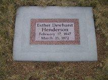 Esther <i>Dewhurst</i> Henderson