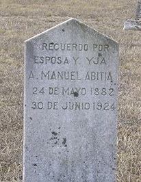 A. Manuel Abitia