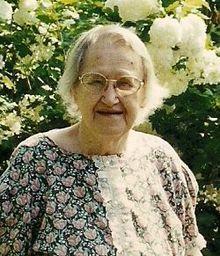 Mrs Bertha Estelle <i>Westmoreland</i> Morton