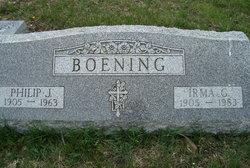 Irma Gladys <i>Manthei</i> Boening