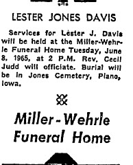 Lester Jones Curly Davis