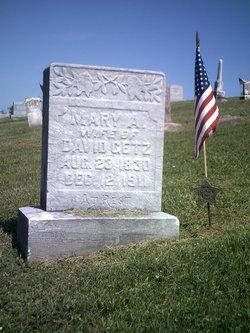 Mary Ann <i>Lepley</i> Getz