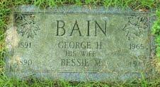 Bessie M <i>Boutwell</i> Bain
