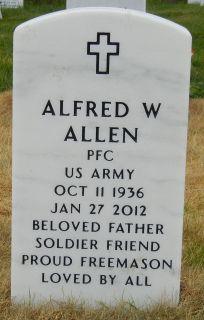 Alfred Wayland Curly Allen