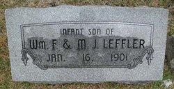 Infant Son Leffler