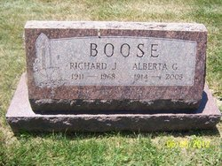 Alberta Grace <i>White</i> Boose
