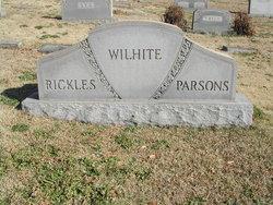 Violet <i>Wilhite</i> Parsons