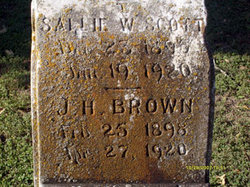 Sallie W <i>Scott</i> Brown