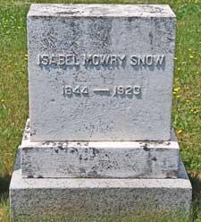 Isabel Mowry Snow