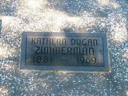 Kathern Kate <i>Dugan</i> Zimmerman