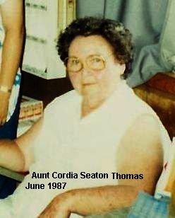 Cordia <i>Seaton</i> Thomas
