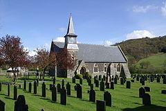 Carno Churchyard
