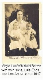 Virgie Lee <i>Whitfield</i> Britton