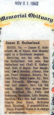 James E. Sutherland