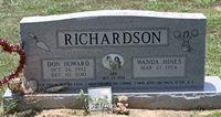 Don Howard Richardson