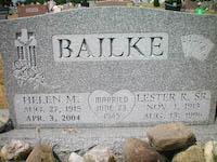 Lester R. Bailke, Sr